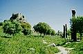 Hierapolis Kastabala 04 2004 Burg und Kolonnadenstraße.jpg