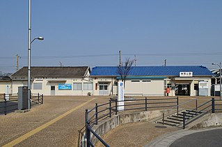 Higashi-Okayama Station Railway station in Okayama, Japan