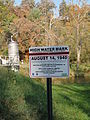 High Water Mark sign along Little River in Snowville Phillips WX4SNO.jpg