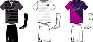 Victoria Highlanders - Highlanders kits (home/away/primary GK), 2016