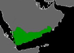 Le royaume himyarite à son apogée en 525 après JC