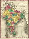 100px hindoostan map 1831