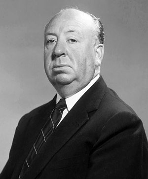 Interwar Britain - Film director Alfred Hitchcock, 1955