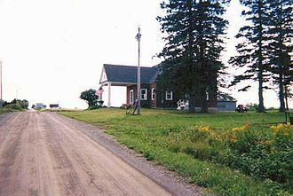 Hodgdon, Maine - Border Crossing Station