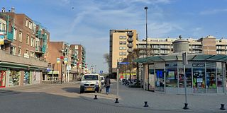Hook of Holland Place in South Holland, Netherlands