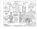Holy Trinity Church, Seventh and Church Street, Wilmington, New Castle County, DE HABS DEL,2-WILM,1- (sheet 2 of 7).png
