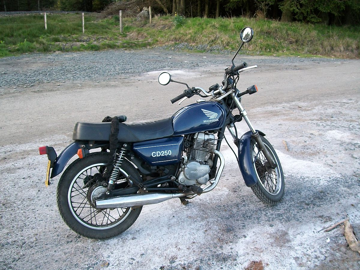 Honda CD250U - Wikipedia