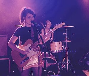 Honeyblood - Honeyblood performing at May 2015 Dot to Dot Festival.