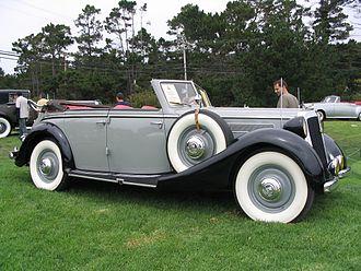 Horch - Horch 930 V Phaeton (1939)