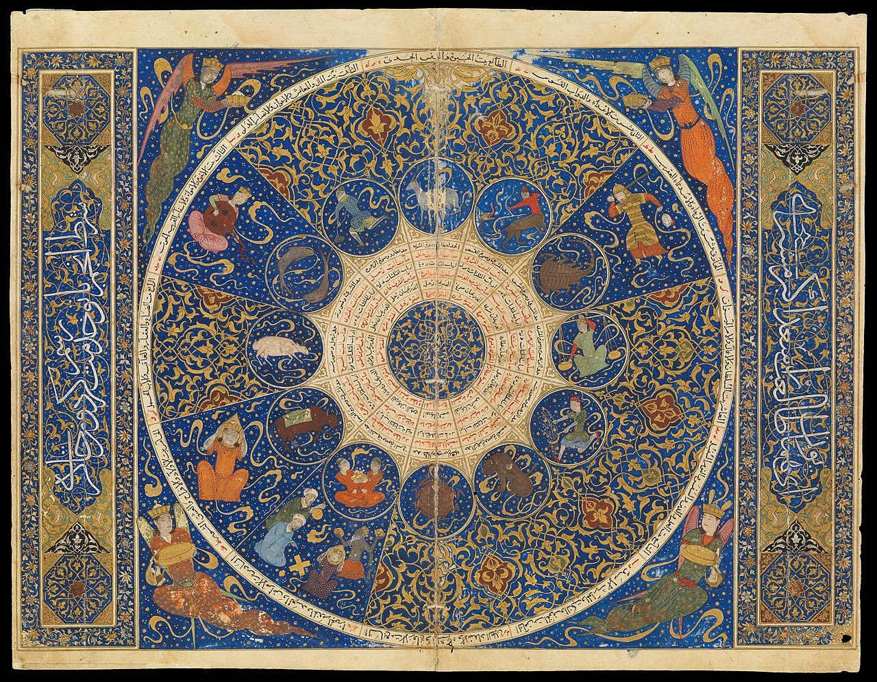 Zodiac Sign Birth Chart: Horoscope from the book of the birth of Iskandar Wellcome ,Chart