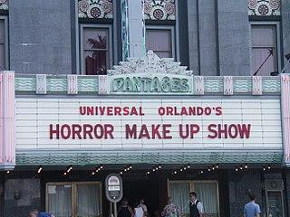 Universals Horror Make-Up Show