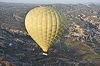 Hot air balloon over Cappadocia, Turkey.JPG