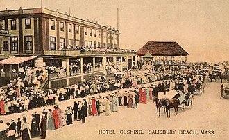 Salisbury, Massachusetts - Image: Hotel Cushing, Salisbury Beach, MA