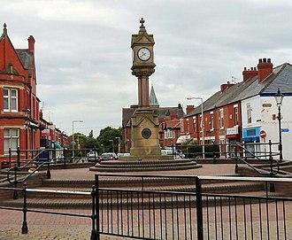 Reddish - Image: Houldsworth Square, Reddish