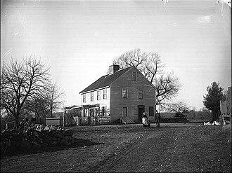 Ann Putnam - House of Ann Putnam Jr. (present-day Danvers, Massachusetts) circa 1891
