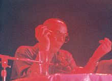 Hunter S. Thompson speaking at Bogart's nightclub in Long Beach, California