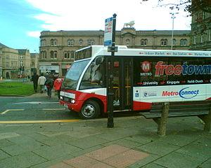 FreeCityBus - The Huddersfield FreeTownBus