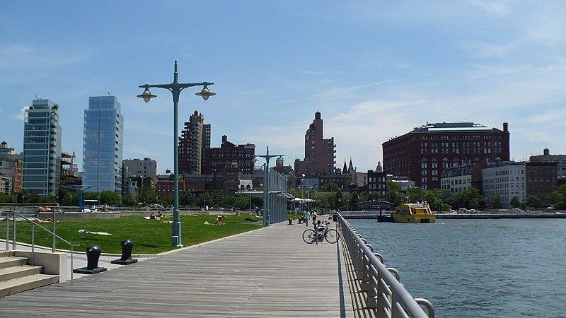 Hudson River Park West Village NY