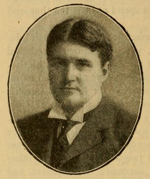 George Huff (coach) - Huff pictured in The Official National Collegiate Athletic Association football guide, 1899