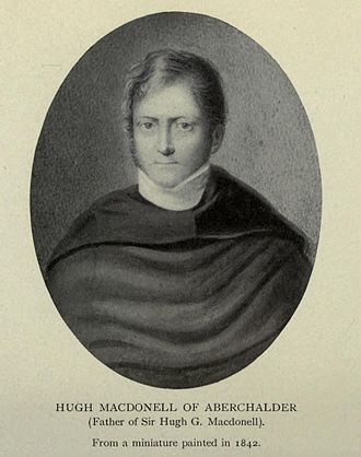 """Sir Hugh MacDonell of Aberchalder - Photo taken from the book of his daughter-in-law, Anne Lumb Yates, wife of his son Sir Hugh Guion MacDonell .""""Reminiscences Of Diplomatic Life"""" 1913"""