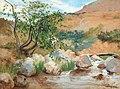 Hugo Birger-Landskap från Sierra Nevada, Spanien.jpg