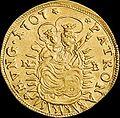 Hun II Rakoczi Ferenc Dukat 1707 NB Huszar 1523 reverse.jpg