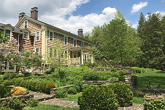 Bamboo Brook Outdoor Education Center - Image: Hutcheson House, Merchiston Farm, Chester Township, NJ looking north