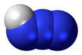 Hydrogen azide 3D spacefill.png