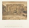 Hypètre d'Athor, sur la Terrasse du grande Temple de Dendérah (Tentyris) MET DP131855.jpg