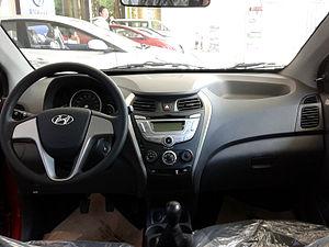Hyundai Eon - Image: Hyundai Eon Interior