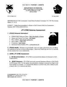 ISN 181's Guantanamo detainee assessment.pdf