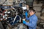 ISS-59 Christina Koch works inside the Harmony module (1).jpg