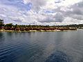 Idyllic villages on the coast near Auki, the capital of Malaita. (10704113825).jpg