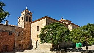 Torralba de los Frailes - Image: Iglesia de Nuestra Señora de la Blanca, Torralba de los Frailes, Zaragoza, España, 2015 09 29, JD 28