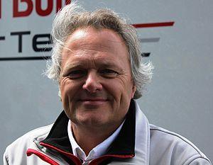ISR Racing - Team Principal Igor Salaquarda in 2011