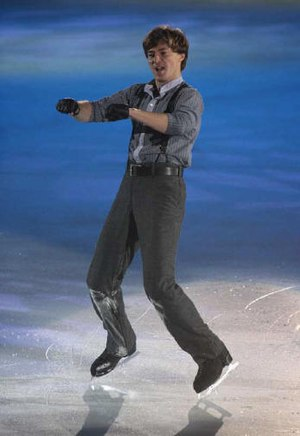 Ilia Kulik at the 2008 Christmas On Ice – Yokohama