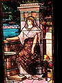 Image of Penelope Waiting for Ulysses to Return from War stained glass window at Glenmont at TENHP in 2014 (e8765dea-2c8d-4104-9895-4a463283e760).jpg