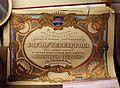 Imola, palazzo tozzoni, album per il matrimonio di francesco tozzoni con sofia serristori, xix secolo.jpg