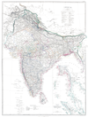 100px india map 1860