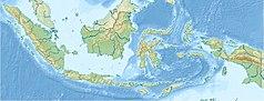 Mapa lokalizacyjna Indonezji