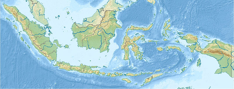 Gambar:Indonesia relief location map.jpg