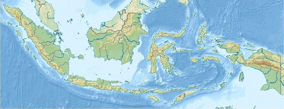 Суматра на мапи Индонезије