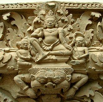 Phnom Kulen National Park - Indra. Prasat Koki (Phnom Kulen). 9th century