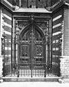 ingangspartij aan de koorsluiting - amsterdam - 20012305 - rce