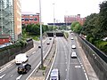 Inner Ring Road - near Clarendon Wing of Leeds General Infirmary - geograph.org.uk - 974686.jpg