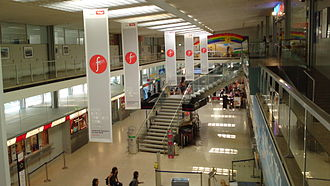 Innsbruck Airport - Departure and arrivals hall