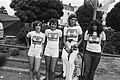 Inschrijving zestigste Vierdaagse van Nijmegen, Vierdaags shirts (zestigjarig), Bestanddeelnr 928-6981.jpg