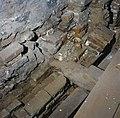 Interieur, detail van de fundering tijdens opgravingen - 's-Hertogenbosch - 20381307 - RCE.jpg