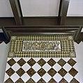Interieur speelhuis, rechter kamer, tegeltableau boven schouw - Lisse - 20340648 - RCE.jpg