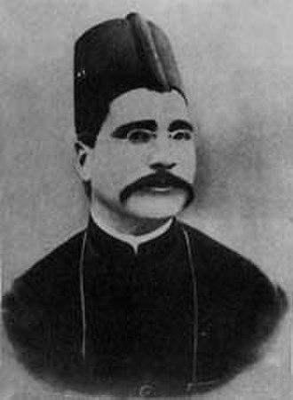 Muhammad Iqbal - Photograph taken during Allama Iqbal's youth in 1899
